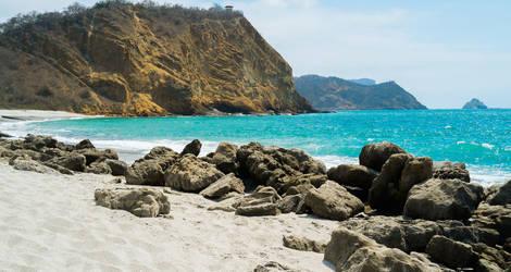 Machalilla-strand-rots