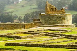 Ingapirca Inca ruïnes