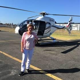 Helicoptervlucht Zuid-Afrika