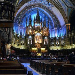 Canada-Montreal-Notre-Dame-Binnenkant