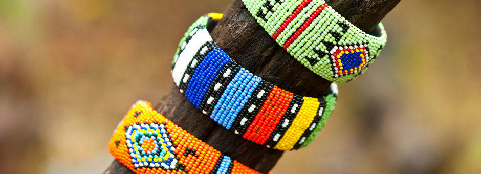 Mooie handgemaakt armbanden, Zuid-Afrika