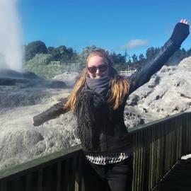 Melany in Nieuw Zeeland