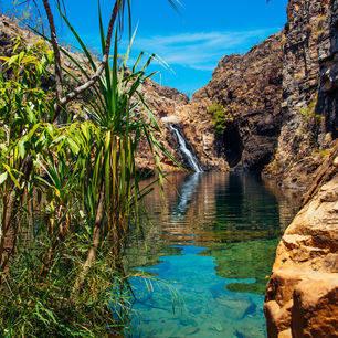 Australie-Kakadu-NP-waterval