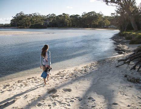Australie-Jervis-Bay-parelwit-zandstrand