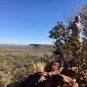 Namibie-Waterberg-Plateau-Uitzicht