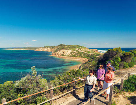 Australie-Mornington Peninsula-wandelen