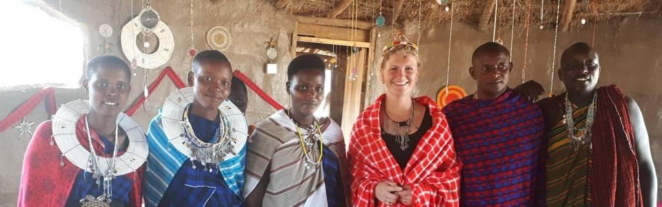 Charalle bij de Masai stam in Tanzania
