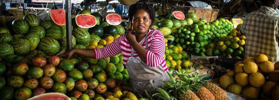 Kenia-Nairobi-Markt