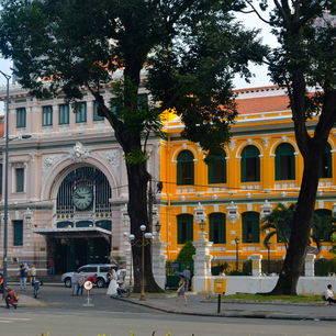 Koloniale grandeur in Ho Chi Minh City