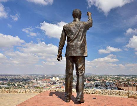 Vrijstaat Bloemfontein Naval Hill Mandela (30)