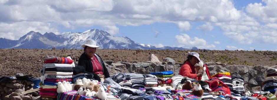 Op de route van Arequipa naar Chivay - Peru