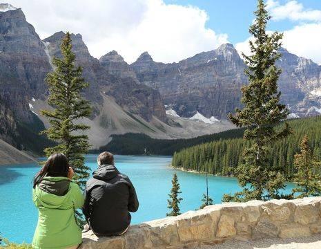 Canada-Banff-Uitzicht
