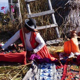 Puno-Titicacameer-Local