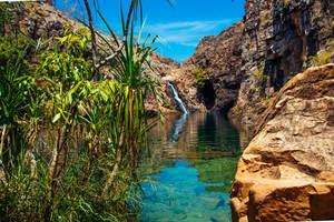 Waterval in Kakadu National Park