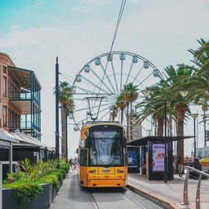 Australie-Adelaide-Glenelg-Beach