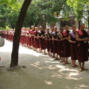 Myanmar-Sagaing-monniken