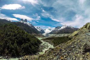 IJstrekking op de Calluqueo gletsjer