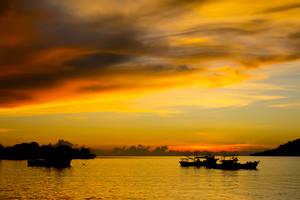 Sunset diner cruise