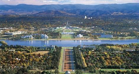 Australie-Canberra-hoofdstad