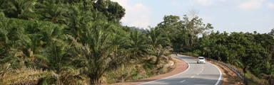 Autoweg in Maleisië